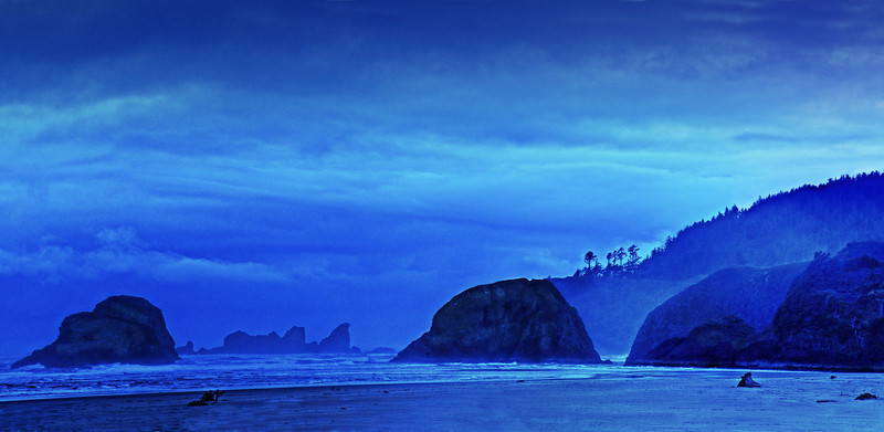 Blue Oregon Dawn