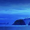 Blue Oregon Dawn