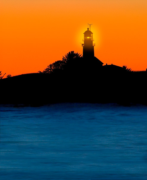 Cape Flattery Lighthouse Sunset Afterglow