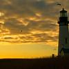 Yaquina Head Lighthouse Sunset