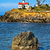 Battery Point--Crescent City Lighthouse Color Vertical