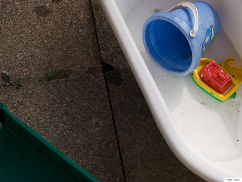 Week 28 2009 - Like Cai the little ship is back where it belongs on water