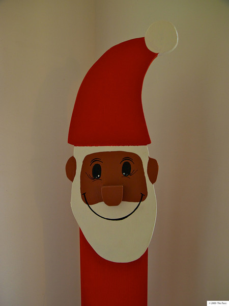 Week 49 - Santa face
