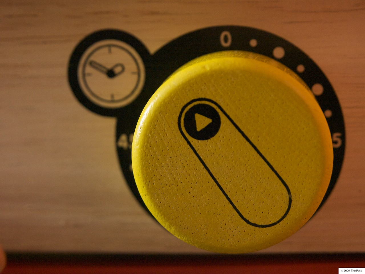 Week 45 - Yellow dial