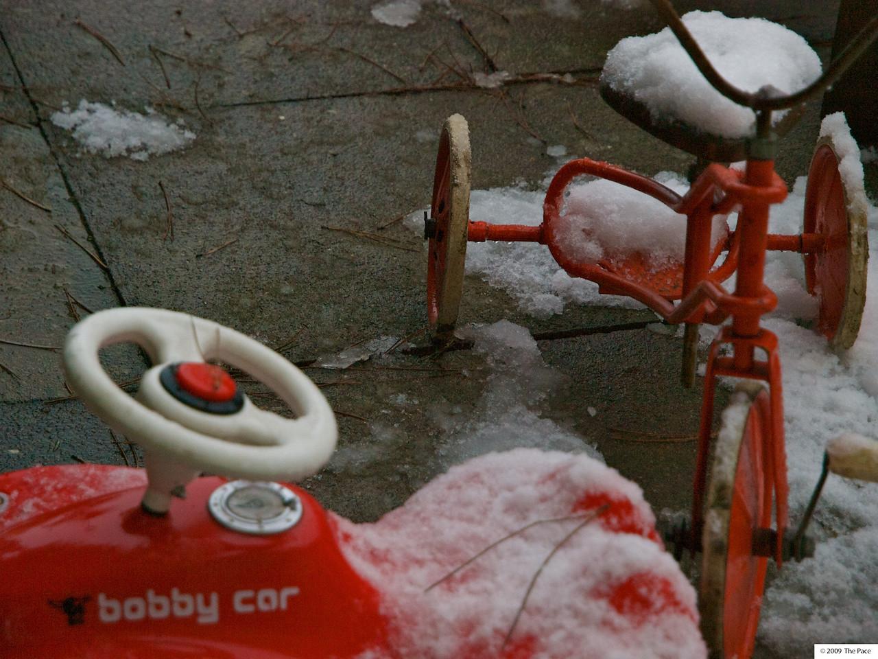 Week 49 - snow bikes