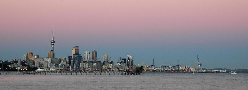 Sunrise, Auckland