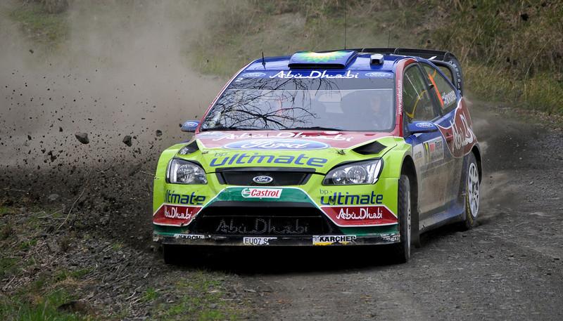 Miko Hirvonen, 2008 Rally of New Zealand