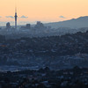 Auckland from Mt Atkinson, Titirangi