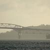Auckland Harbour Bridge and Devonport Naval Base