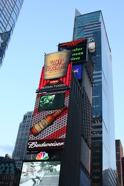 <CENTER>Times Square, NYC</CENTER>