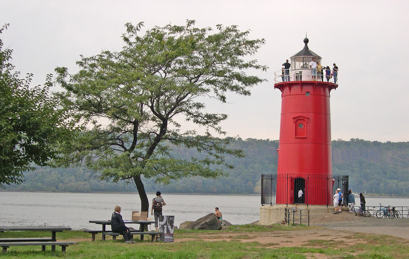 Little Red Light House, sits right under the GW Bridge
