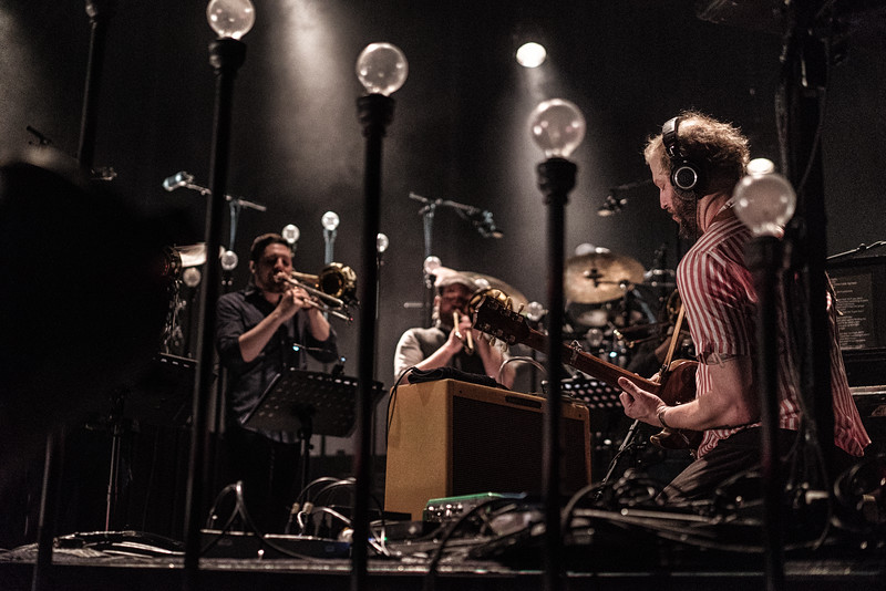 Bon Iver at the Bomb Factory in Dallas TX