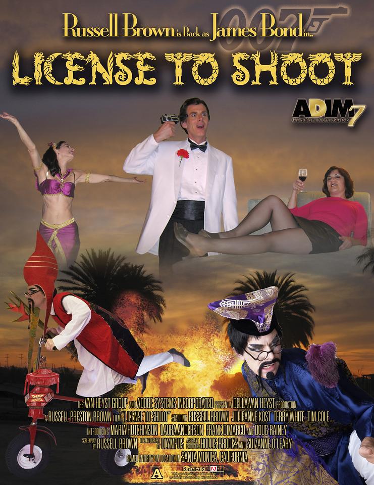ADIM 7 main project: Bond-influenced movie poster