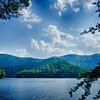 lake santeetlah in great smoky mountains nc