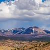 canyon badlands and colorado rockies lanadscape