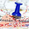 winston-salem city pin on the map