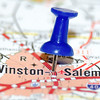 winston-salem city pin on the map