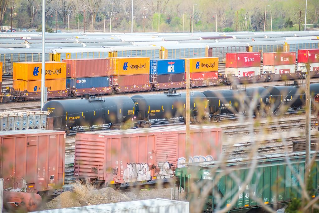 Kansascity  USA freight trains
