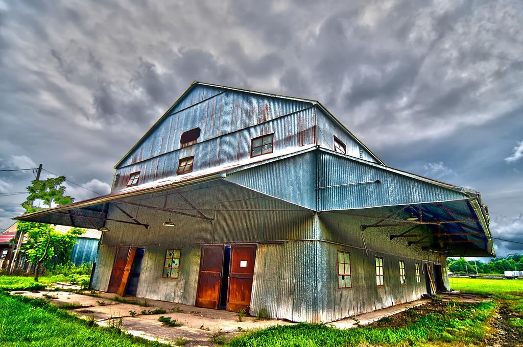 old storage barn