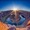 Sunset at the Horseshoe Band - Grand Canyon