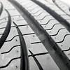 tire tread closeup in a tire shop