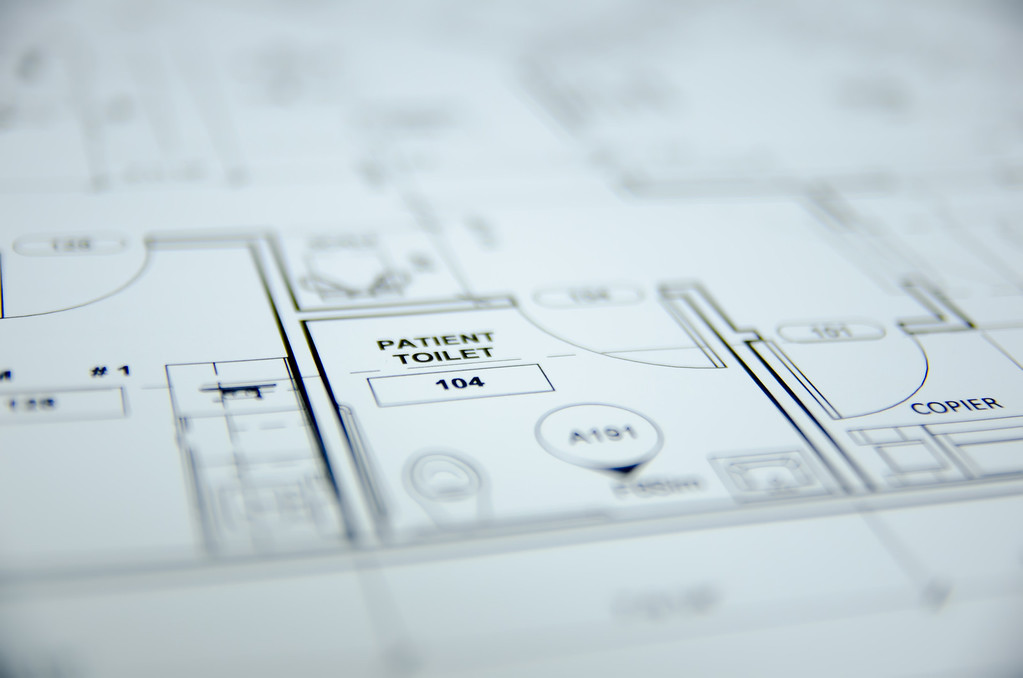architectural drawing project design background