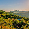 blue ridge parkway morning