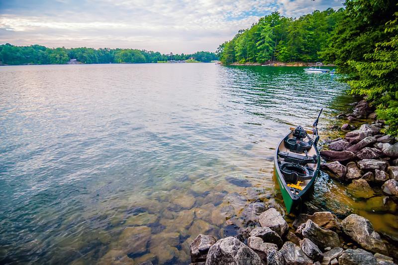 kayak with electric motor