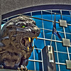 carolina panthers statue