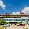 June 20, 2014. The stadium is the home field of the NFL's Tennessee Titans and the Tennessee State University Tigers.