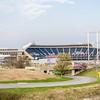 football and baseball  sports stadium