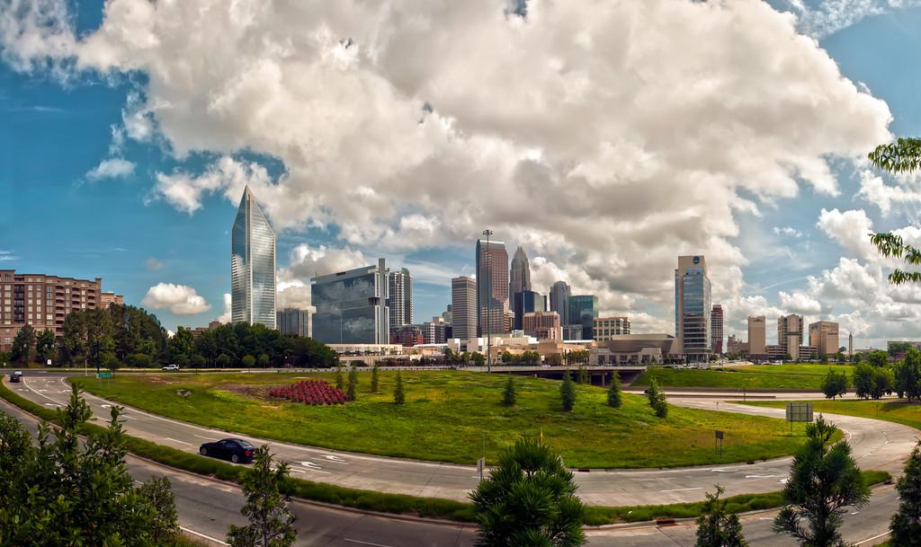 Skyline of Charlotte Towers