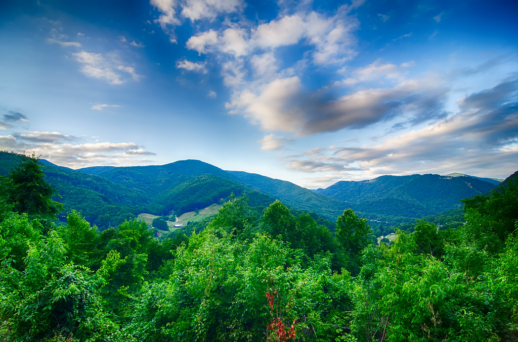 valley near maggie valley north carolina