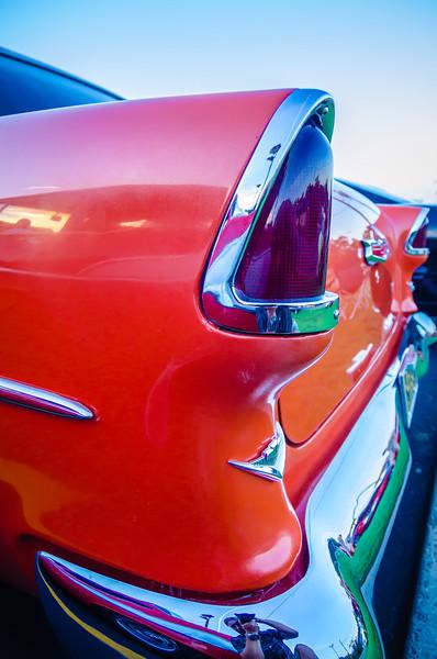 classic vintage car details