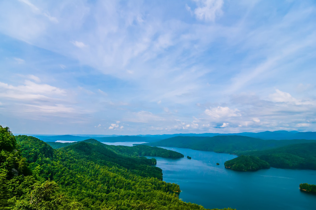 South Carolina Lake Jocassee Gorges Upstate Mountain