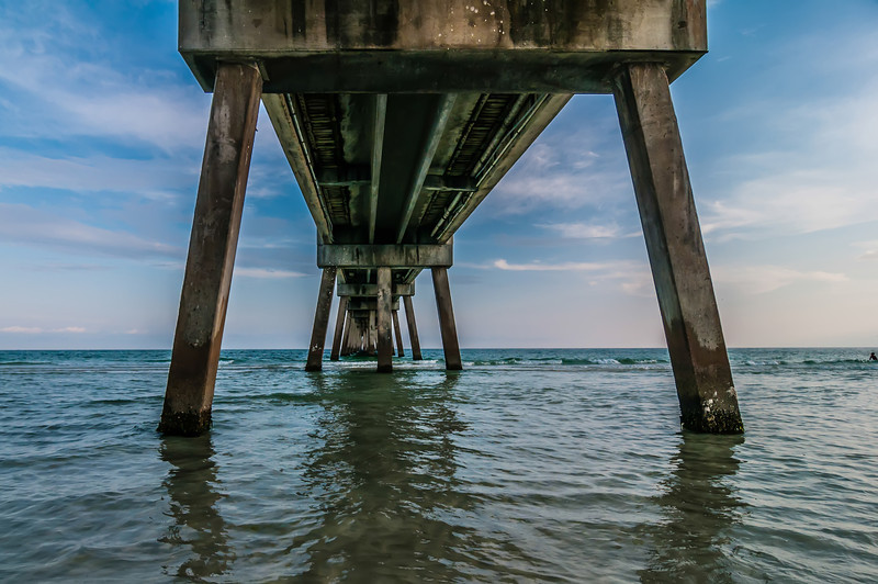 okaloosa island concrete pier