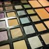 Make-up colorful eyeshadow palettes set