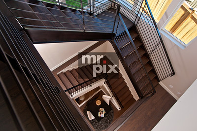 Architectural image of Hi Tech Industrial house. Photo by ©2015 Michael Moore - MrPix.com