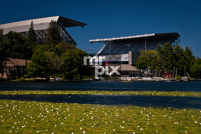 Husky Stadium - The Dawghouse - architectural photography