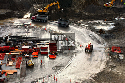 Husky Stadium Renovation Industrial Photography