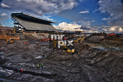 Renovation of Husky Stadium (The Dawghouse) Environment - Industrial Photography #huskystadium #dawghouse #huskystadiumrenovation