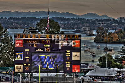 UWHuskies/OregonDucks game 11/5/11