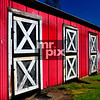 Old red & white barn. Architectural Photo by ©2015 Michael Moore - MrPix.com