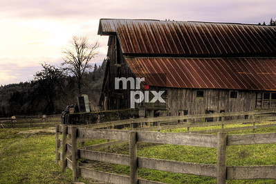 Architectural Photography - Old Barns out in the Snoqualmie Valley. #oldbarns #architecture #snoqualmievalleybarns #architecturalphotography #snoqualmievalley. #oldbluebarn, #MichaelMoore_MrPix Photo by © 2015 Michael Moore - MrPix.com.  All rights reserved - Thanks Much! Architectural Photography