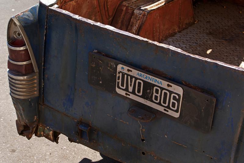 OLD CAR IN PARANA. ENTRE RIOS. ARGENTINA.