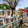 BUENOS AIRES. LA BOCA. TOURIST 'ART'.