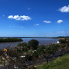 PARANA. ENTRE RIOS. PARQUE URQUIZA WITH A VIEW AT RIO PARANA.