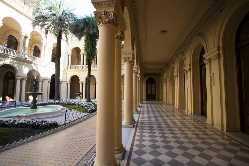 BUENOS AIRES CAPITAL. CASA ROSADA. COURT YARD. PRESIDENTIAL PALACE. [CASA DE GOBIERNO] BUENOS AIRES.