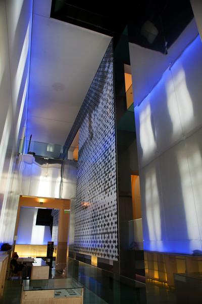 CORDOBA CAPITAL. MUSEO FERREYRA ENTRANCE. CORDOBA. ARGENTINA.