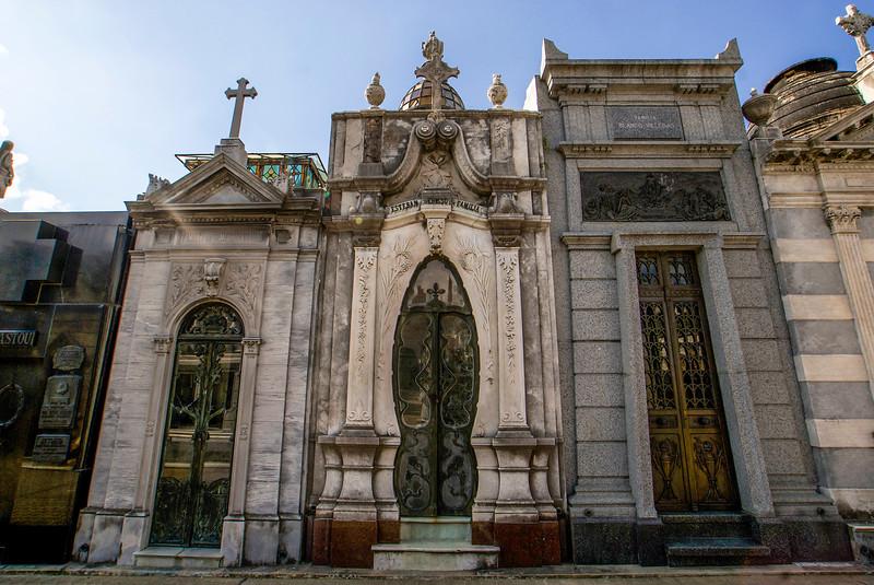 BUENOS AIRES. CEMENTERIO DE RECOLETA. [3]